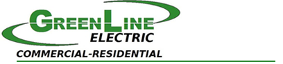 Logo, Green Line Electric - Electrical Contractor